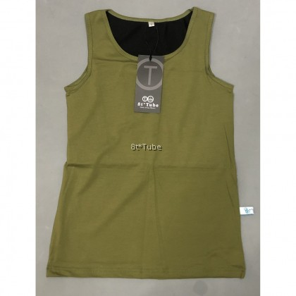 10 Colours! Extra Flat (XS-6XL) Tomboy Binder: Vestlike II Singlet Binder (Bandage 20cm Extra Tight) 超平坦加强型外穿束胸