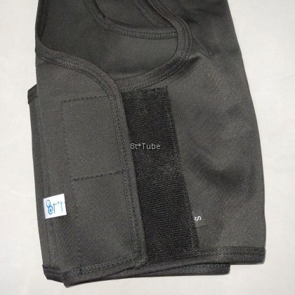 X. Tighten: (Buckle & Velcro) Comfortable Non Bandage Tomboy Binder Left Hook 舒适无绷带束胸 (排扣 & 静音魔贴)
