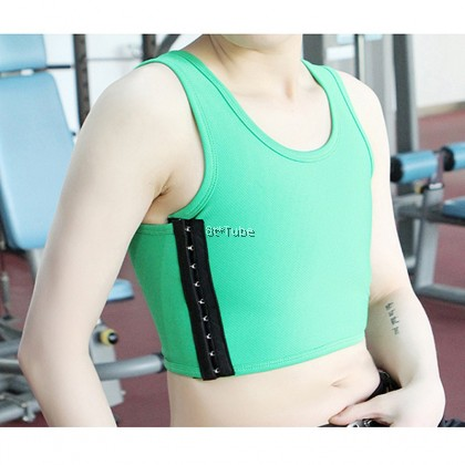 Strong Hold Total 4 Layers Tomboy Binder (Wide Coverage No Bandage) 无绷带前后双层加强束胸 包覆能力强