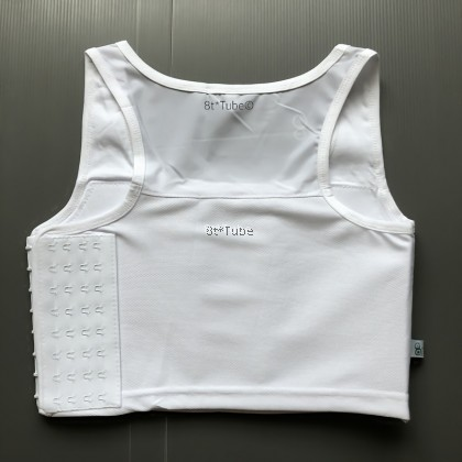 (S-6XL) Extra Flat! Tomboy Binder: Sport III 20CM Bandage Wide Coverage Extra Flatness Chest Binder 超平坦 加大包覆能力