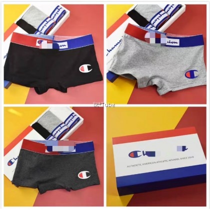 Box Set Women Underwear Boxer (3pcs in 1 Box)